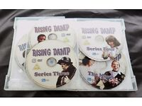 Rising Damp - The Complete Series Plus The Movie (DVD, 2008, 5-Disc Set, Box Set
