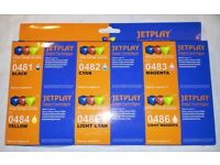 INKJET PRINTER CARTRIDGES FULL SET EPSON COMPATIBLE RX300 RX320 RX500 RX600 RX620 RX640 NEW BOXED