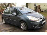 Automatic Citroen C4 picasso 5 VTR for sale, Very long MOT, service history, low mileage.
