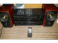Denon amp + cd + mission speakers will sell seperately