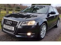 FINANCE, WARRANTY PART EX WELCOME....AUDI A3 2.0 TDI 138 SPORT...ONLY £30 RFL