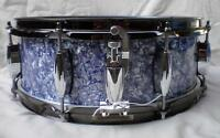 5 x 14 Maple Snare - Blue Pearl