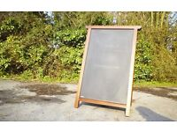 A Board. A very robust solid wood A Board. Retails new for £175. Good condition, £75