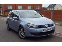 2009 Volkswagen Golf 1.6 TDI SE 5dr **F/VW/S/H+2 OWNERS+IMMACULATE**