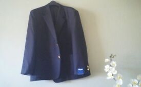Mens Black blazer. Brand new never worn. 50 inch chest, original labels attached. £40 ovno.