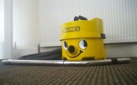 Vacuum cleaner JAMES like a Henry Neumatic.