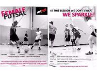 Futsal (indoor) female session