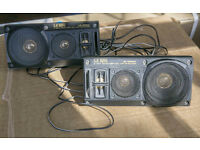 Old Style car bookshelf speakers