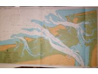 Admiralty Charts 1980's Thames , North Sea south