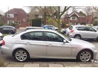 BMW 320i - SILVER - PETROL - 6 SPEED - MANUAL - 2006 - 108k MILES HALF LEATHER SEATS