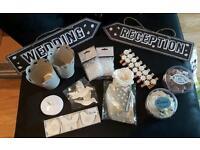 Various wedding items