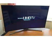 CURVED !! SAMSUNG 40in UHD (4K) SMART TV -1200hz- FREEVIEW/SATELLITE HD -WIFI- VOICE CTRL- WARRANTY