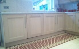 Kitchen units for sale including some appliances