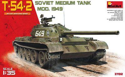 MINIART #37012 T-54-2 Soviet Medium Tank Mod.1949 in 1:35