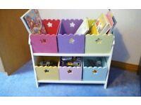 Children's book case/storage unit