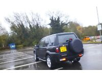 2003 1.8 petrol freelander 3 door in black low milage engine rebuild at 55000 all bills