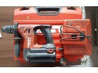 Hilti TE-6A Cordless SDS Hammer Drill - Good Working Order