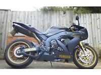 Yamaha r1sp private plate extras one of only 500
