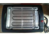 Electronic table top grill
