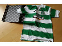 Celtic official signed top 2016 by squad and manager with box and crest