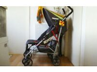 BUGGY/PUSHCHAIR + FOOTMUFF, CHESTPADS, & RAINCOVER **FREE DELIVERY HULL**