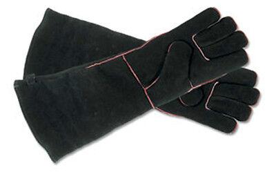 """Minuteman Fireplace Hearth Gloves 19"""" Long A-13BK"""
