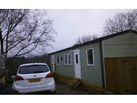3 bedroomed static sited caravan