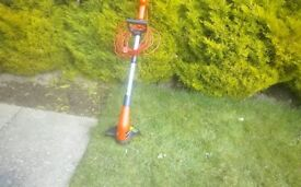 Electric strimmer.