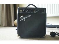 Squier sp 10 guitar amplifier