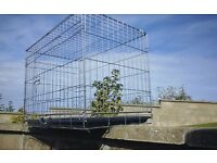 Folding pets/dogs cage