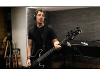 Bass Player Available for Gigs/Recording Studio