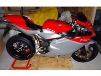 2011 MV AGUSTA 1078RR F4 312 MONOPOSTO WITH PRIVATE PLATE, JUST 500 MILES FROM NEW