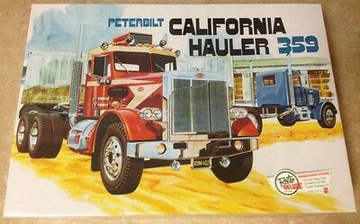 AMT Peterbilt 359 California Hauler 1/25 plastic truck model kit new 866