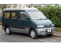 Mazda Bongo Campervan Auto Free Top