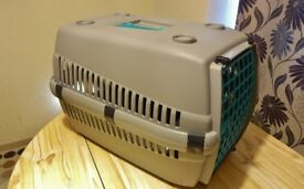 Pet carrier cage.
