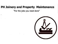 Joinery and Property Maintenance services.
