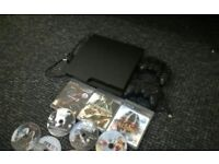 Ps3 10 games,two controlls,collection