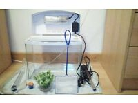 12 Liter Fish Tank and Accessories