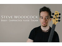 Bass Guitar and Chapman Stick Lessons with Professional Teacher / Tutor