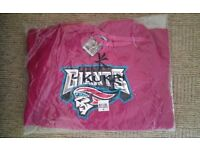 """BELFAST GIANTS HOODIE ~ PINK ~ SIZE SMALL ~ 38"""" CHEST ~ BRAND NEW!"""