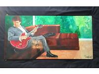 Gary Moore painting