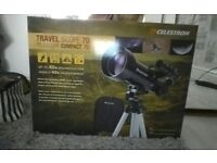 Celestron telescope, brand new