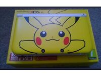Nintendo 3DS XL - Limited Edition Pikachu Edition RARE!