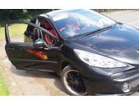 Peugeot 207 Sport Black *Low mileage* Bargain £1300