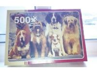 500 Piece Dog Jigsaw Puzzle