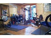 PERFECT FIT.....SMALL PRIVATE GYM..........LOCAL AND INFORMAL....