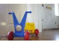 Toddlers ride on