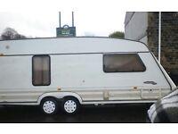 Touring caravan fleetwood colchester 1850 4 berth 1996