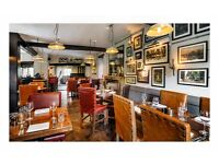 Restaurant staff at various levels for AA Rosette Country Pub - Tips, Development, Flexibility