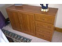 Walnut veneer Sideboard